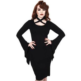 Ženska haljina KILLSTAR - GRAVEDUST - BLACK, KILLSTAR
