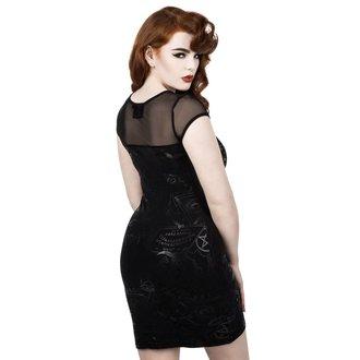Ženska haljina KILLSTAR - GRAVE - CRNA, KILLSTAR