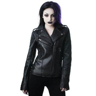Ženska kožna jakna - Graveyard Shift Biker - KILLSTAR, KILLSTAR