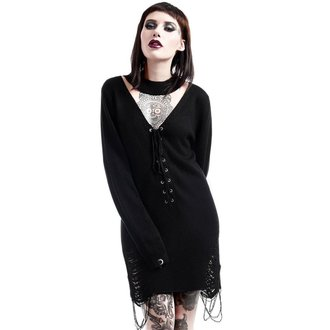 Džemper ženski KILLSTAR - Hell In Harlow Distress Knit - Black - K-KNT-F-2609