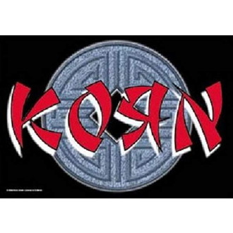 Zastava Korn - Ball Logo, HEART ROCK, Korn