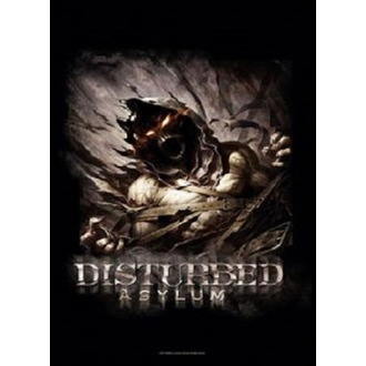Zastava Disturbed - Big Fade Asylum, HEART ROCK, Disturbed