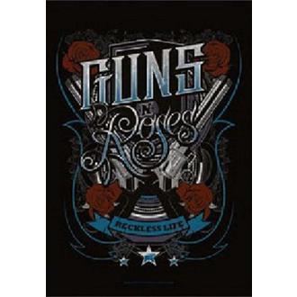 Zastava Guns N' Roses - Recklesslife, HEART ROCK, Guns N' Roses