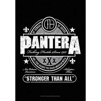 Zastava Pantera - Beer Label, HEART ROCK, Pantera