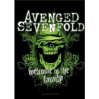 Zastava Avenged Sevenfold - Welcome to the Family, HEART ROCK, Avenged Sevenfold