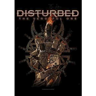 Zastava Disturbed - The Vengeful One, HEART ROCK, Disturbed