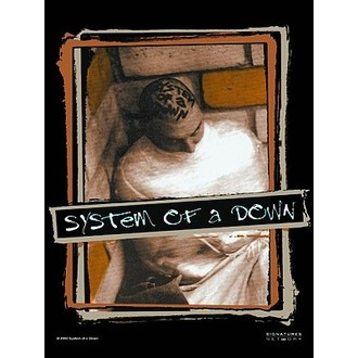 Zastava System Of A Down. HFL 581, HEART ROCK, System of a Down