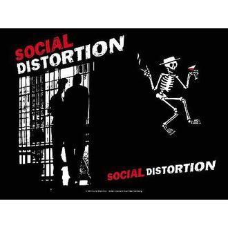 zastava Social Distortion - Slammer, HEART ROCK, Social Distortion
