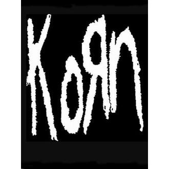 zastava KORN - Band Logo, HEART ROCK, Korn