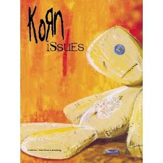 zastava Korn - Issues, HEART ROCK, Korn