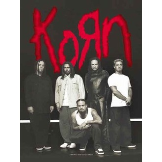 zastava Korn - Privjesak, HEART ROCK, Korn