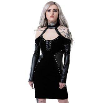Ženska haljina KILLSTAR - IMOGEN - BLACK, KILLSTAR