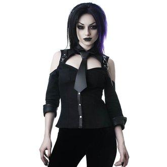 Ženska košulja KILLSTAR - Kalista Teachers Pet - BLACK, KILLSTAR