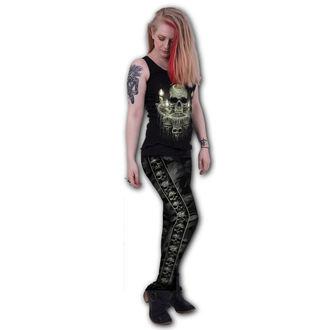 Ženske hlače (tajice) SPIRAL - CAMO-SKULL, SPIRAL