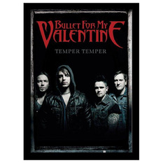 Uramljen poster Bullet For My Valentine - Group - PYRAMID POSTERS, PYRAMID POSTERS, Bullet For my Valentine