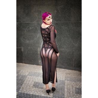 Haljina ženska KILLSTAR - Zandra Mesh - Crno, KILLSTAR