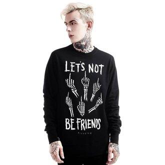 Majica (unisex) KILLSTAR - Let's Not - Black, KILLSTAR