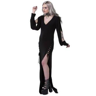 Ženska haljina KILLSTAR - LIBRA RISING - BLACK, KILLSTAR