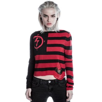Ženski džemper KILLSTAR - MARILYN MANSON - Little Horn - Black, KILLSTAR, Marilyn Manson