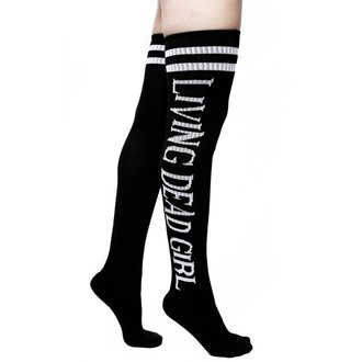 Čarape preko koljena KILLSTAR - ROB ZOMBIE - Život Mrtav Djevojka - BLACK, KILLSTAR, Rob Zombie
