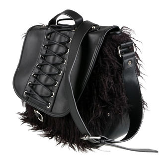 Torba (Torbica) KILLSTAR - LOKE FUR - BLACK, KILLSTAR