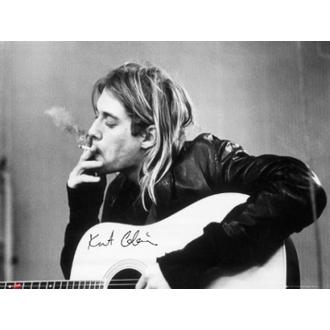 plakat - Nirvana - Kurt Cobain - smoking - LP1151, GB posters, Nirvana