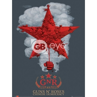 plakat - Guns N' Roses chinese - LP1259, GB posters, Guns N' Roses