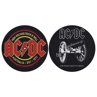 Gramofon podmetač (Set od 2pcs) AC / DC - FOR THOSE MOUT TO ROCK - HIGH NAPON - RAZAMATAZ, RAZAMATAZ, AC-DC