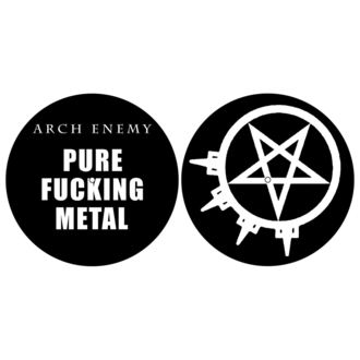 Gramofon podmetač (Set od 2 kom) ARCH ENEMY - PURE FUCKING METAL - RAZAMATAZ, RAZAMATAZ, Arch Enemy