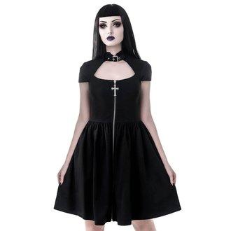 Ženska haljina KILLSTAR - Lucinda - CRNA, KILLSTAR