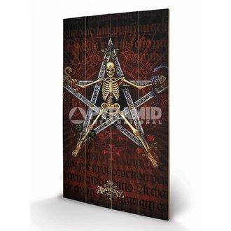 drven slika Alchemy (Alchantagram) - Pyramid Plakati, ALCHEMY GOTHIC