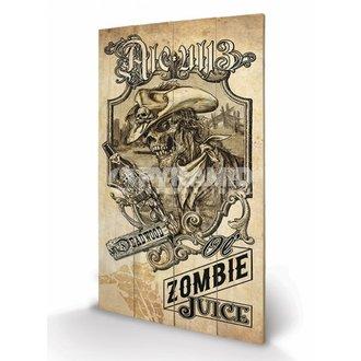drven slika Alchemy (Zombie Juice) - Pyramid Plakati, ALCHEMY GOTHIC