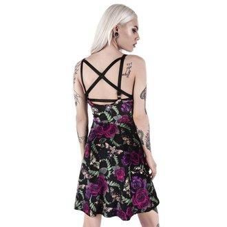 Ženska haljina KILLSTAR - LYDIA NIGHTLIFE - BLACK, KILLSTAR