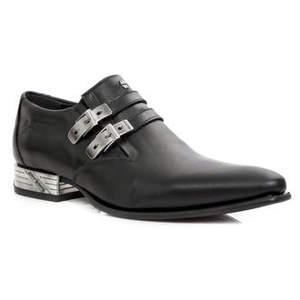 Kožne cipele unisex - ANTIK PULIDO-NEGRO, VIP1 NEGRO - NEW ROCK, NEW ROCK