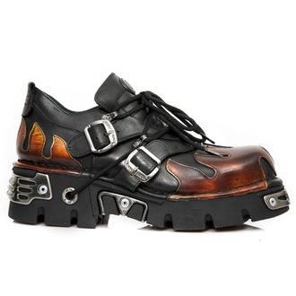 Muške kožne cipele - ITALI NEGRO, PULIK FUEGO - NEW ROCK, NEW ROCK