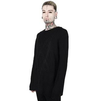 Unisex džemper KILLSTAR - MAGUS KNIT - BLACK, KILLSTAR