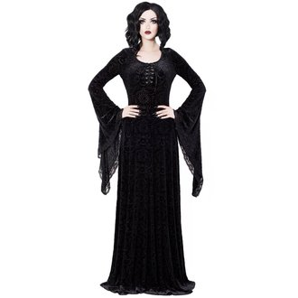 Ženska haljina KILLSTAR - Mai - BLACK, KILLSTAR