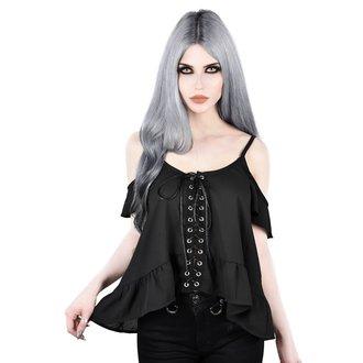 Ženska majica KILLSTAR - Marina - BLACK, KILLSTAR