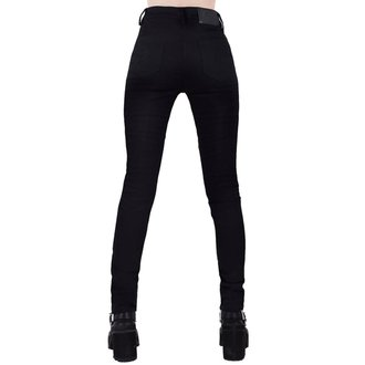 Ženske hlače KILLSTAR - Mazzy - BLACK, KILLSTAR