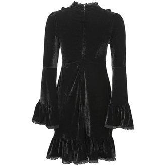 Ženska haljina KILLSTAR - MITSUYO NU LOLITA - BLACK, KILLSTAR