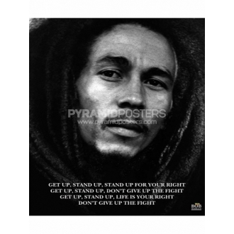 Poster - Bob Marley (Dobiti Gore, Stajati Gore) - MPP50072, PYRAMID POSTERS, Bob Marley