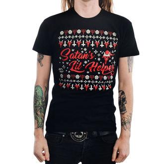 Muška majica gotika i punk - SATAN'S LIL HELPER EVIL - TOO FAST, TOO FAST
