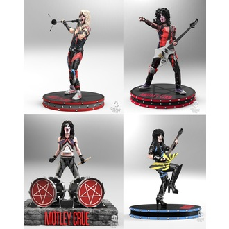 Figurice (Set) Mötley Crüe - Band - Rock Iconz, KNUCKLEBONZ, Mötley Crüe