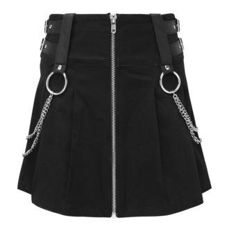 Ženska suknja KILLSTAR - Nancy - BLACK - KSRA000377