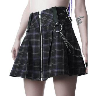 Ženska suknja KILLSTAR - Nancy - TARTAN, KILLSTAR