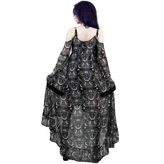 Ženska haljina KILLSTAR - NEW MOON MAIDEN - CRNA, KILLSTAR