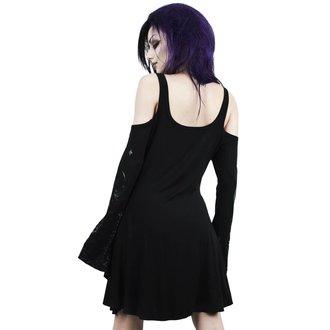 Ženska haljina KILLSTAR - NIGHTSHADE - CRNA, KILLSTAR