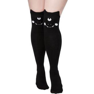 Čarape iznad koljena KILLSTAR - NYX LONG - BLACK, KILLSTAR