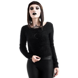 Džemper ženski KILLSTAR - Obscura Fuzzy Knit - Black, KILLSTAR