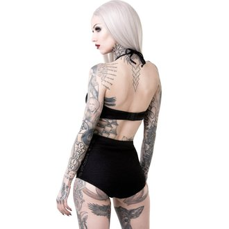 Ženski kupaći kostim KILLSTAR - OCCULTUS - BLACK, KILLSTAR